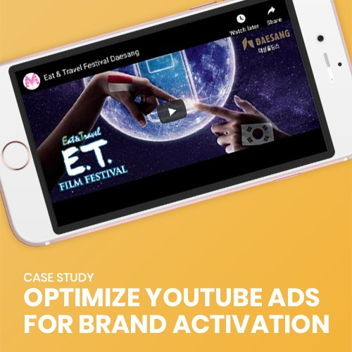 Illustration of Optimize Youtube Ads For Brand Activation