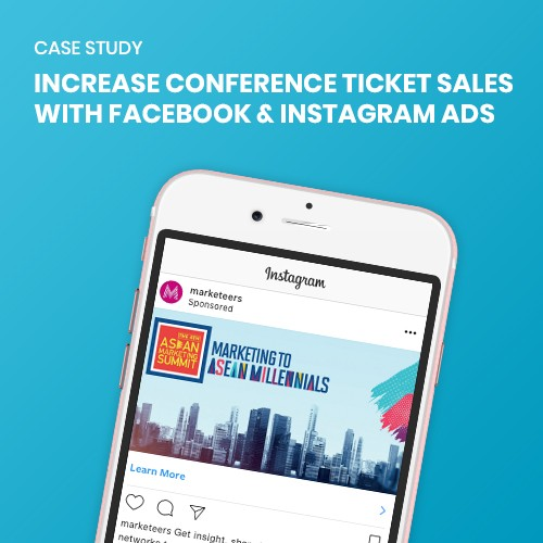 Illustration of Increase Conference Ticket Sales with Facebook & Instagram Ads