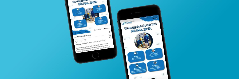 Illustration of Dua Jenis Digital Marketing yang Diterapkan pada Perusahaan Daerah